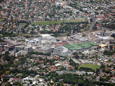 Claremont_aerial_view